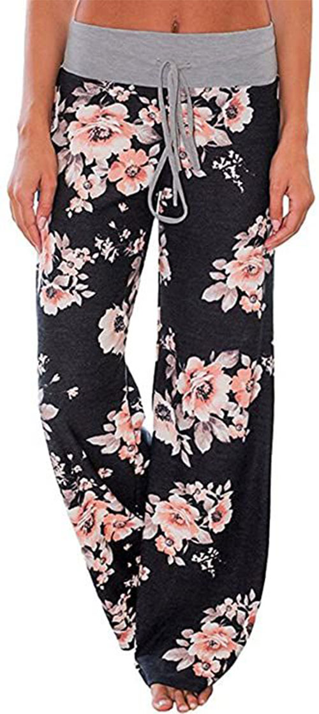 Floral-Print-Pants-For-Girls-Women-2021-Spring-Fashion-11