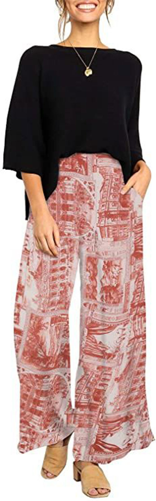Floral-Print-Pants-For-Girls-Women-2021-Spring-Fashion-12