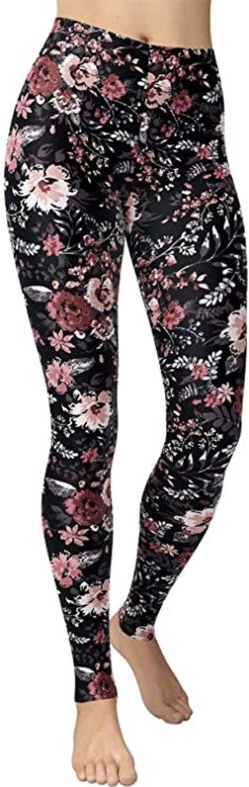 Floral-Print-Pants-For-Girls-Women-2021-Spring-Fashion-2