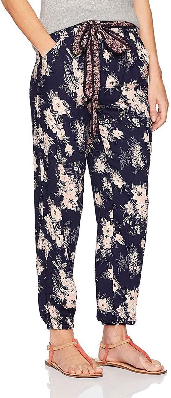 Floral-Print-Pants-For-Girls-Women-2021-Spring-Fashion-8