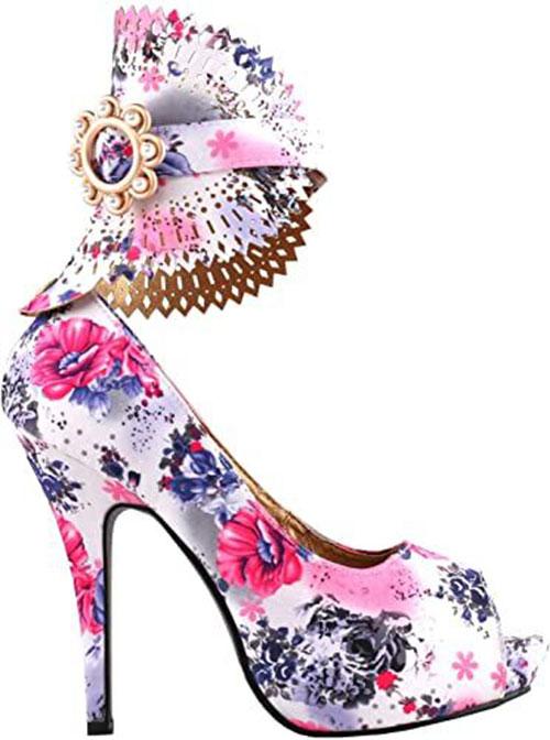 Stylish-Spring-Heels-For-2021-Floral-Heels-3