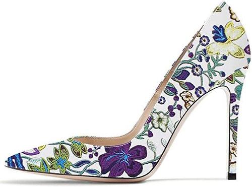 Stylish-Spring-Heels-For-2021-Floral-Heels-9