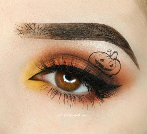 Candy-Corn-Halloween-Makeup-Ideas-2021-1