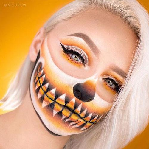 Candy-Corn-Halloween-Makeup-Ideas-2021-13