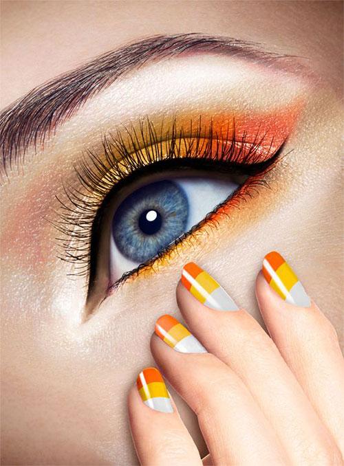 Candy-Corn-Halloween-Makeup-Ideas-2021-2
