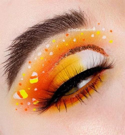 Candy-Corn-Halloween-Makeup-Ideas-2021-3