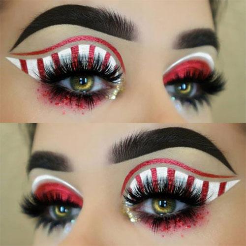 Candy-Corn-Halloween-Makeup-Ideas-2021-6