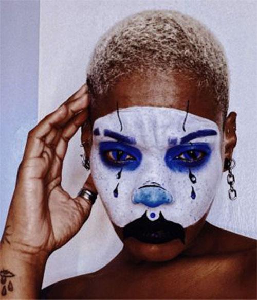 Creepy-Clown-Halloween-Makeup-Looks-2021-8