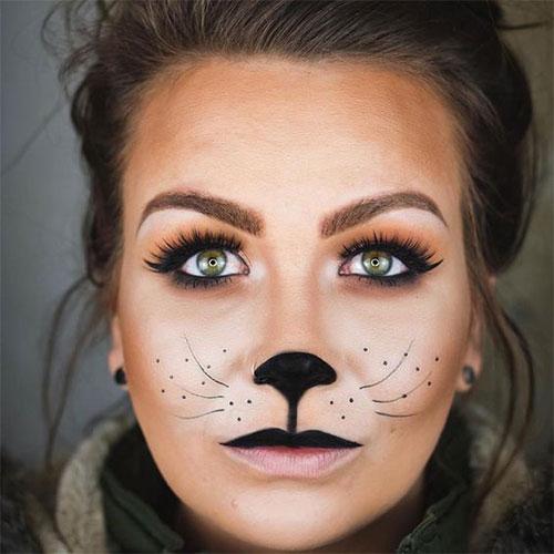 Cute-Easy-Deer-Make-up-Ideas-For-Halloween-2021-11