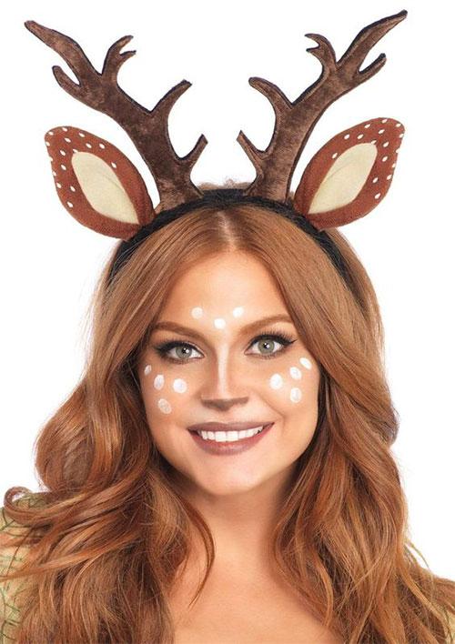 Cute-Easy-Deer-Make-up-Ideas-For-Halloween-2021-5