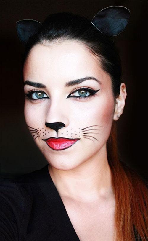 Easy-Last-Minute-Halloween-Makeup-Looks-Ideas-2021-1
