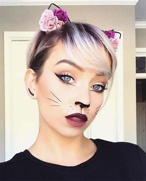 Easy-Last-Minute-Halloween-Makeup-Looks-Ideas-2021-16