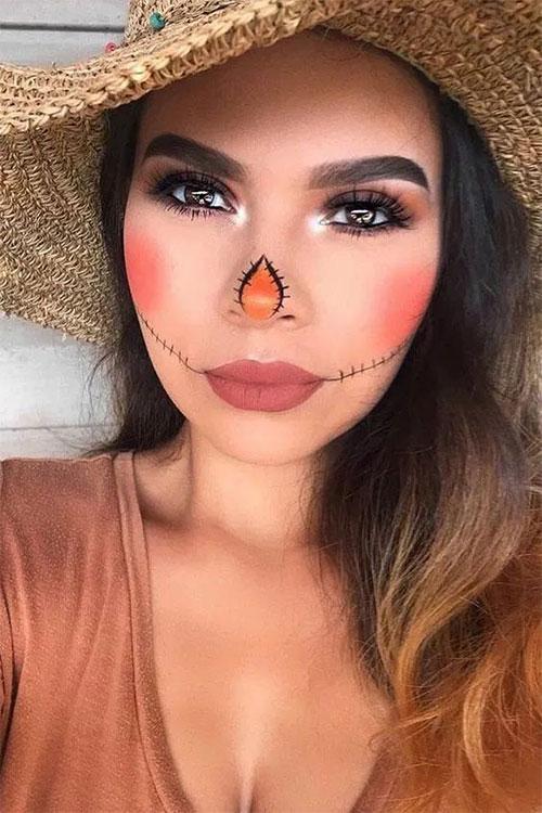 Easy-Last-Minute-Halloween-Makeup-Looks-Ideas-2021-17