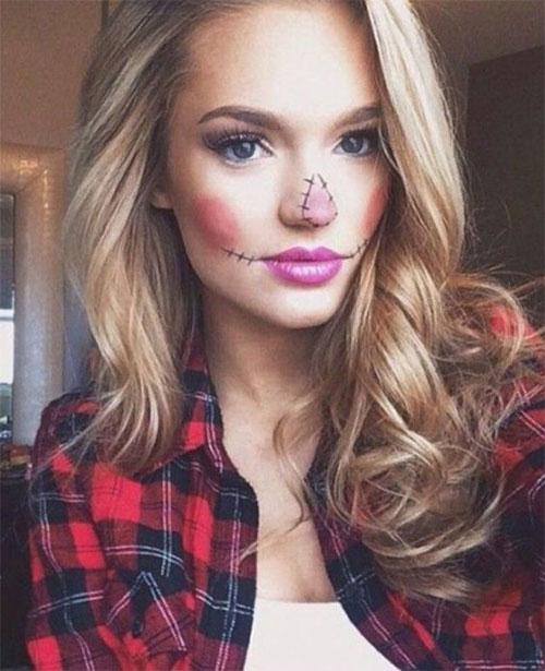 Easy-Last-Minute-Halloween-Makeup-Looks-Ideas-2021-18