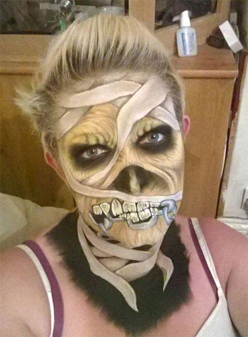 Mummy-Makeup-Looks-Ideas-Halloween-Makeup-2021-4