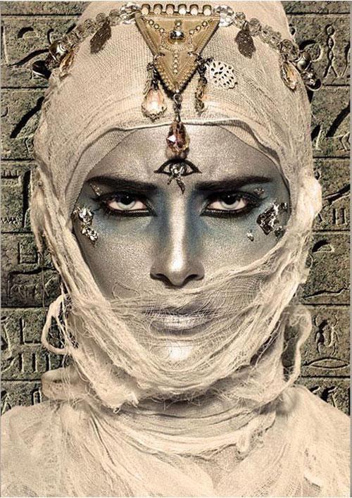 Mummy-Makeup-Looks-Ideas-Halloween-Makeup-2021-6