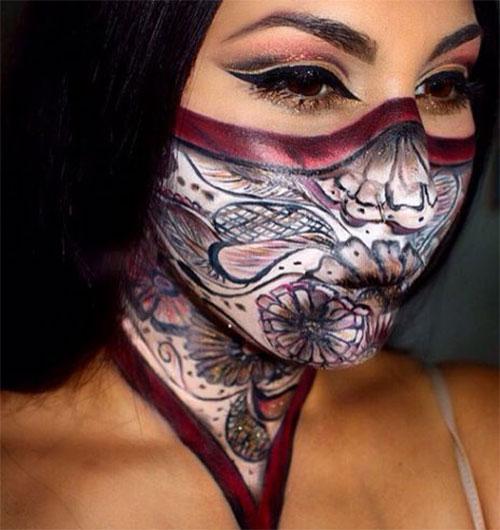 Ninja-Inspired-Makeup-Looks-For-Halloween-2021-2
