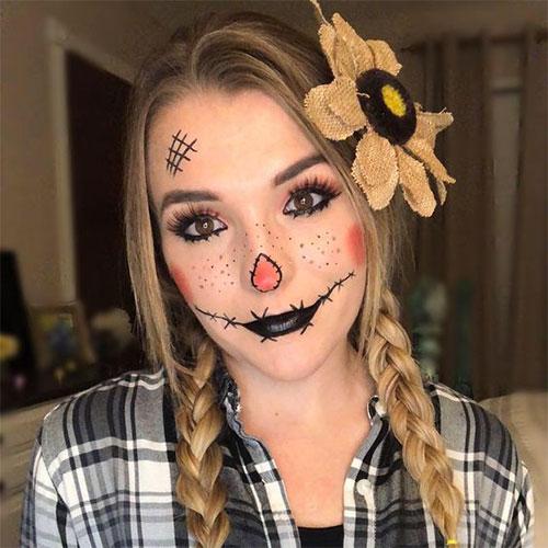 Scary-Scarecrow-Halloween-Makeup-Looks-2021-10