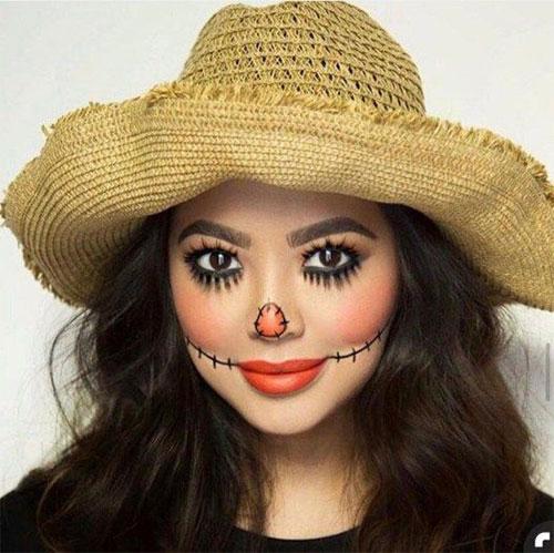 Scary-Scarecrow-Halloween-Makeup-Looks-2021-12