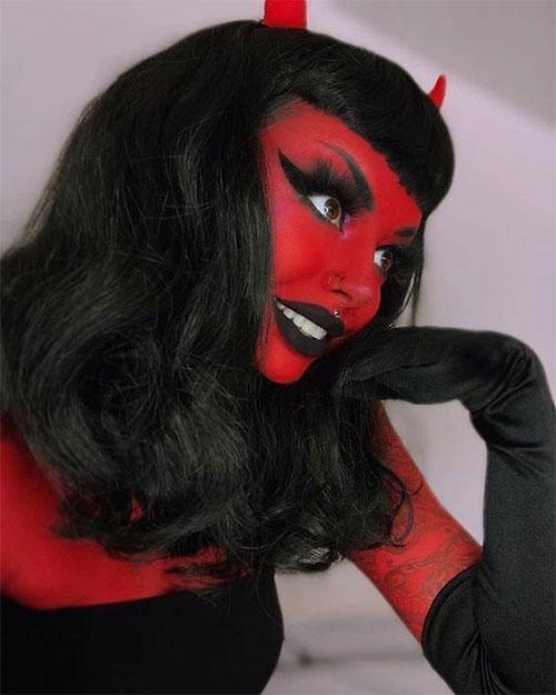 Spooky-Halloween-Devil-Makeup-Ideas-2021-Scary-Face-Makeup-9