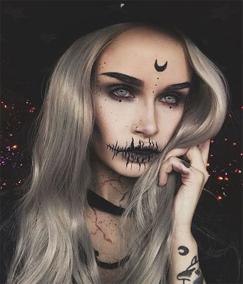 Witch-Halloween-Make-Up-Looks-Ideas-2021-10