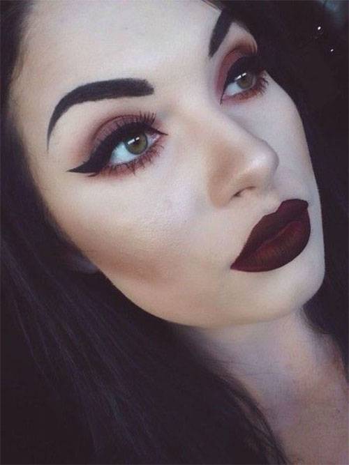 Witch-Halloween-Make-Up-Looks-Ideas-2021-16