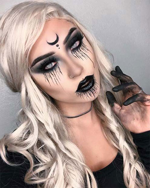 Witch-Halloween-Make-Up-Looks-Ideas-2021-3