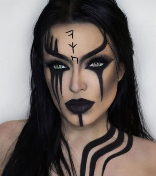 Witch-Halloween-Make-Up-Looks-Ideas-2021-4