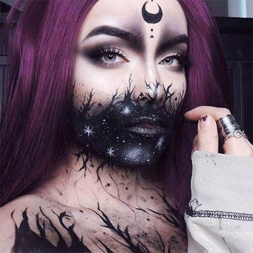 Witch-Halloween-Make-Up-Looks-Ideas-2021-6