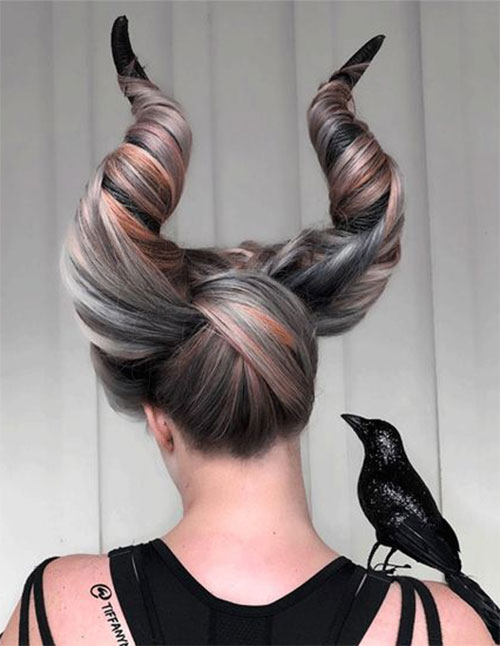 Crazy-Scary-Halloween-Hairstyle-Ideas-2021-8